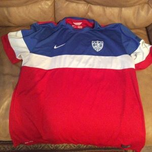 Authentic USA Soccer Jersey